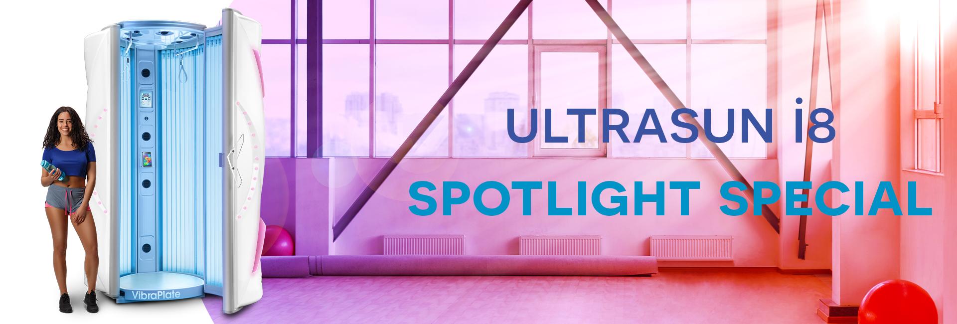 Ultrasun i8 spotlight special